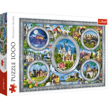 Trefl Puzzle Castles Of The World 1000 Parça