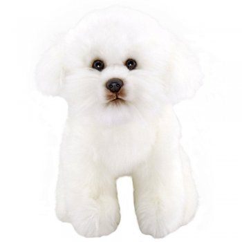 Animals Of The World Floppy Bichon Peluş Oyuncak 28 cm