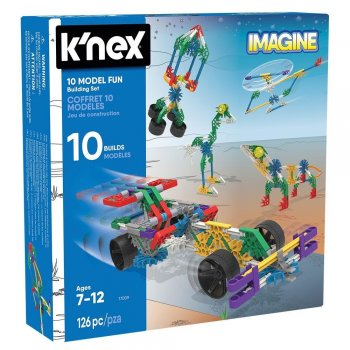 KNex Imagine 10 Farklı Model Set 17009
