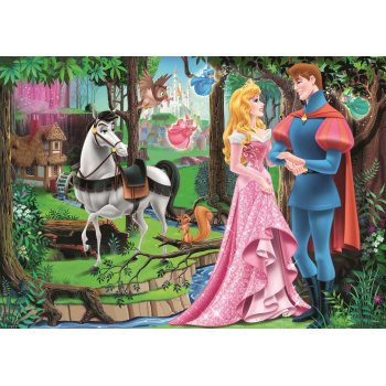 Trefl Puzzle Princess Meeting In The Forest 200 Parça Yapboz