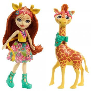 Enchantimals Gillian Giraffe Ve Pawl Oyun Seti