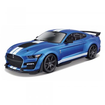 Maisto 1/18 2020 Ford Mustang Shelby GT500 Model Araba Mavi