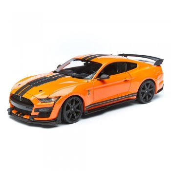 Maisto 1/18 2020 Ford Mustang Shelby GT500 Model Araba Turuncu